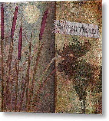 Moose Trail Metal Print