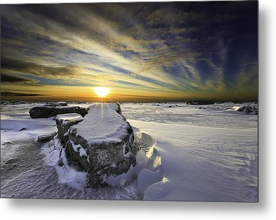 Mooses Tooth Metal Print by Ed Boudreau