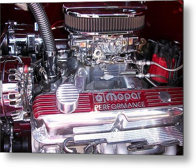 Mopar Power Metal Print by Edmund Akers