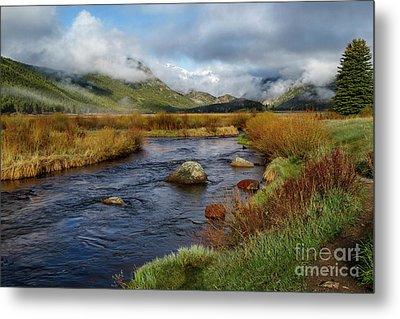 Moraine Park Morning - Rocky Mountain National Park, Colorado Metal Print by Ronda Kimbrow