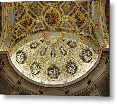 Metal Print featuring the photograph Morgan Library Rotunda by Jessica Jenney