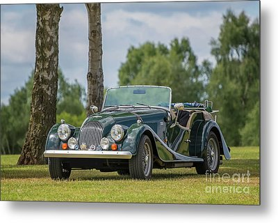 Metal Print featuring the photograph Morgan Sports Car by Adrian Evans