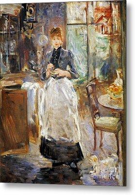 Morisot: Dining Room, 1886 Metal Print by Granger