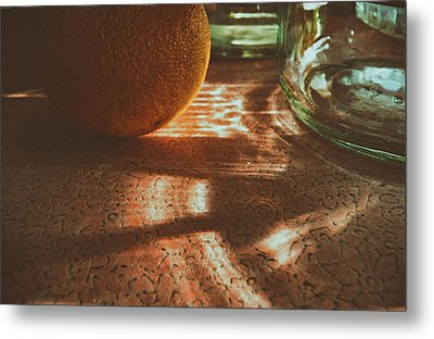 Metal Print featuring the photograph Morning Detail by Steven Huszar