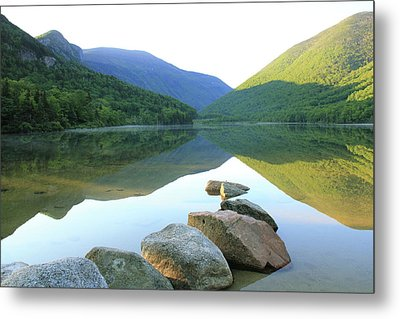 Morning At Echo Lake Metal Print