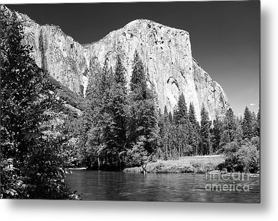 Metal Print featuring the photograph Morning At El Capitan by Sandra Bronstein
