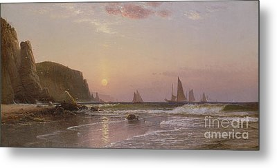 Morning At Grand Manan Metal Print by Alfred Thompson Bricher