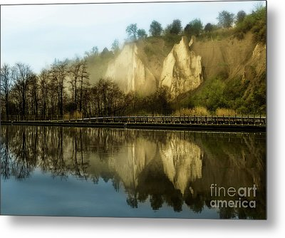 Morning At The Bluffs Metal Print