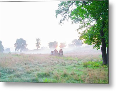 Morning At The Philadelphia Cricket Club - Flourtown Pa Metal Print by Bill Cannon