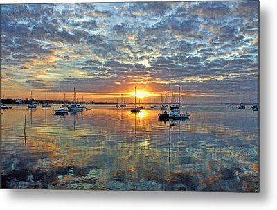 Morning Bliss Metal Print by HH Photography of Florida