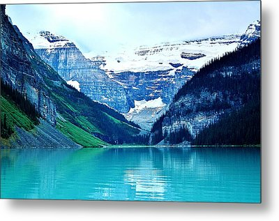 Metal Print featuring the photograph Morning Blue by Al Fritz