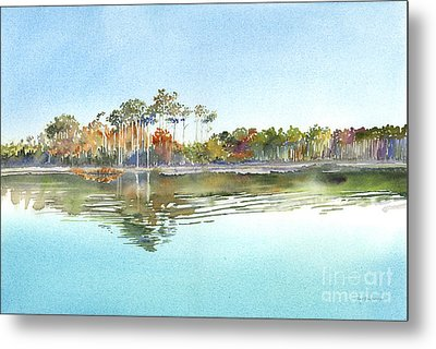 Morning Calm Metal Print by Amy Kirkpatrick