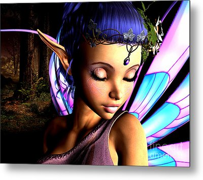 Morning Fairy  Metal Print by Alexander Butler