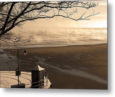Morning Filey Beach Metal Print by Svetlana Sewell