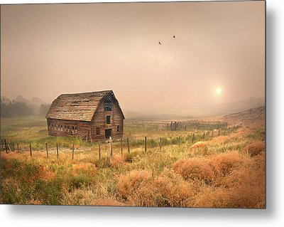 Metal Print featuring the photograph Morning Flight by John Poon