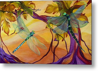 Morning Flight Metal Print by Karen Dukes