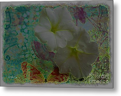 Morning Glory Fantasy Metal Print