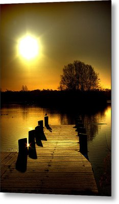 Morning Glory Metal Print by Kim Shatwell-Irishphotographer