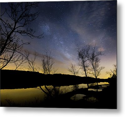Morning Gold Metal Print by Bill Wakeley