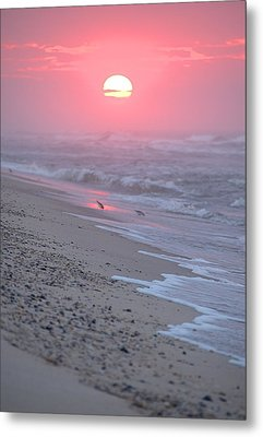 Metal Print featuring the photograph Morning Haze by  Newwwman