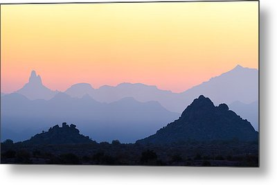 Morning Hues Metal Print