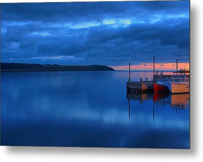 Morning In Cape Breton Metal Print by Joe  Ng