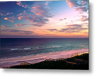 Morning Light On Rosemary Beach Metal Print by Marie Hicks