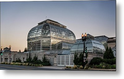 Morning Light On The United States Botanic Garden Metal Print by Greg Mimbs