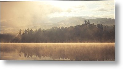 Morning Light Over The Mountains Metal Print by Stephanie McDowell