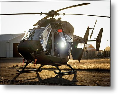 Metal Print featuring the photograph Morning Light by Paul Job