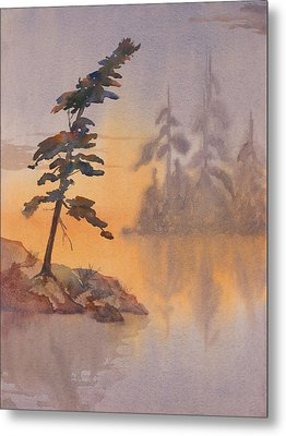 Morning Mist Metal Print by Debbie Homewood