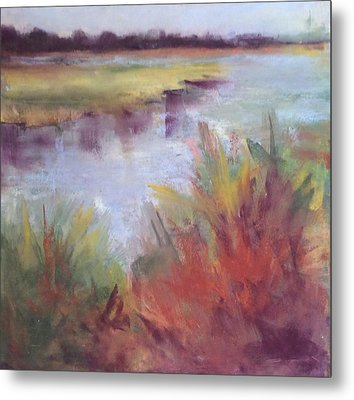 Morning On The Marsh Metal Print