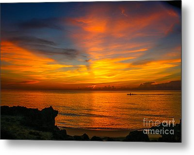 Morning On The Water Metal Print