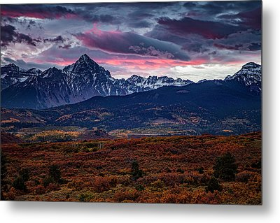 Metal Print featuring the photograph Morning Over The Rockies by Andrew Soundarajan
