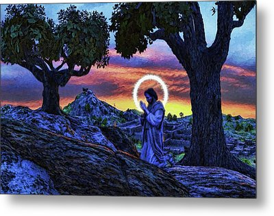 Morning Prayers Metal Print