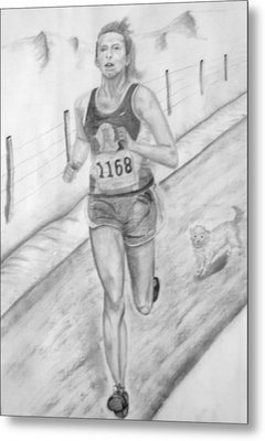 Morning Race Metal Print by Russ  Smith