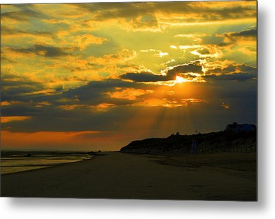 Morning Rays Over Cape Cod Metal Print