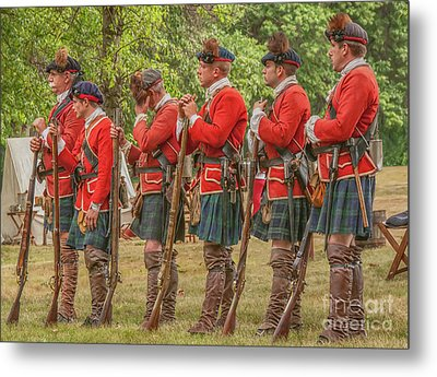Metal Print featuring the digital art Morning Roll Call  by Randy Steele