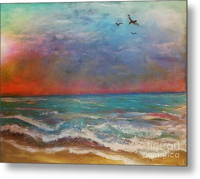 Morning Sunrise Metal Print by Vickie Scarlett-Fisher
