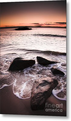 Metal Print featuring the photograph Morning Tide by Jorgo Photography - Wall Art Gallery