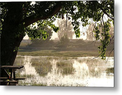 Metal Print featuring the photograph Morning Tranquility  by Christy Pooschke