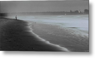 Metal Print featuring the photograph Morning Walk by Ron Dubin
