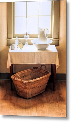 Morning Window At Old World Wisconsin Metal Print by Christopher Arndt
