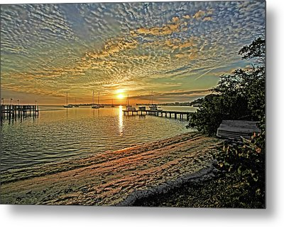 Mornings Embrace Metal Print by HH Photography of Florida