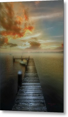 Mornings First Light Metal Print by Marvin Spates