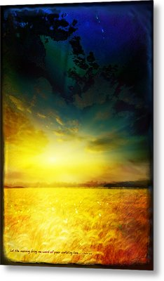 Morning's Promise Metal Print