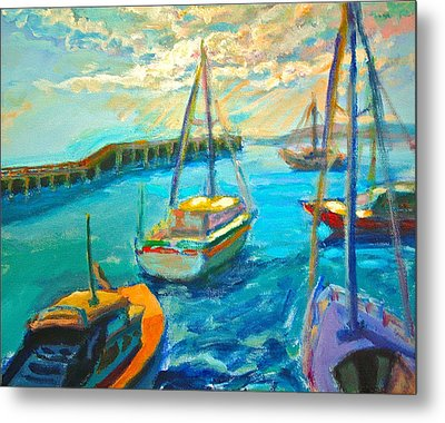 Mornington Pier Metal Print