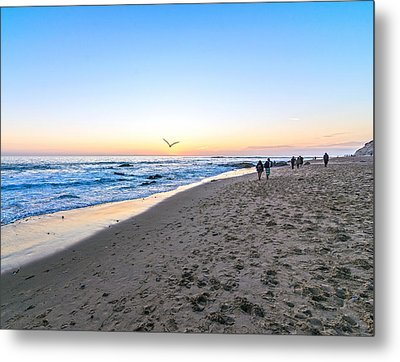 Metal Print featuring the photograph Moro Sunset by Anthony Baatz