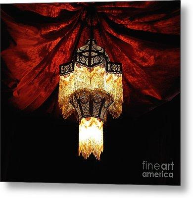 Moroccan Glow Metal Print by Slade Roberts