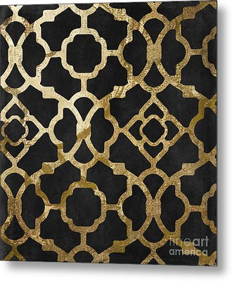 Moroccan Gold IIi Metal Print by Mindy Sommers